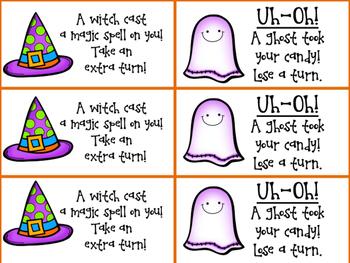 Halloween First Grade Sight Word Games