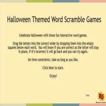 Halloween Activities for First & Second Graders Interactive & Printable