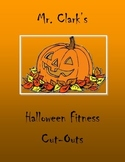 Halloween PE Fitness Cut-Outs