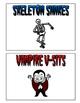 Halloween Fitness Fun Cards