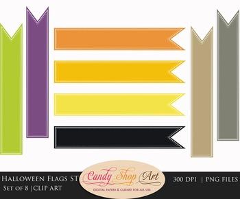 Halloween Flags, Halloween Banner Flags, Web Banner Flags,