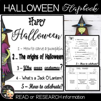 Halloween Flapbook