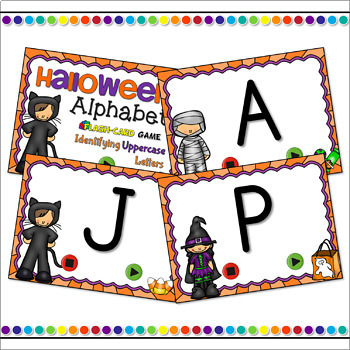 Halloween Flash Card Bundle