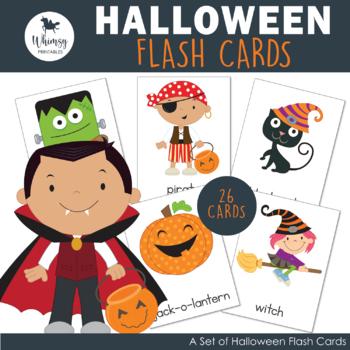 Halloween Flash Cards