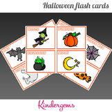 Halloween Flash Cards Instant Download PDF; Preschool, Kin