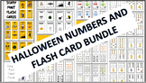 Halloween Flash Cards, Number Cards, and Dominoes