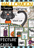 Halloween Flashcards Design 1