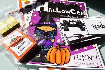 Halloween Activity Pack