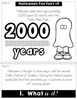 Halloween Flip Book   No Prep   No Fuss   No Scissors   No Glue   Flipbook