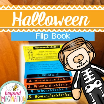 Halloween Flip Book   No Prep   No Fuss   No Scissors   No