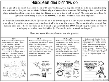 Halloween Flip Book and Poems