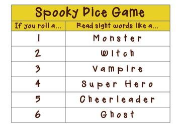 Halloween Fluency