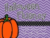 Halloween Fluency Cards - Practice for Upper Elementary Grades