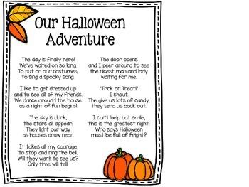 Halloween Fluency Cards - Practice for Upper Elementary Grades