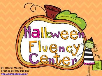 Halloween Fluency Center