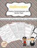 Halloween Fluency, Comprehension, and Center Activities (G
