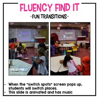 Halloween Fluency Find It (1st Grade)