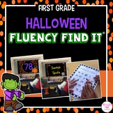 Halloween Fluency Find It (1st Grade)