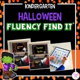 Halloween Fluency Find It (Kindergarten)