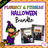 Halloween Fluency & Fitness® {EDITABLE} Brain Breaks