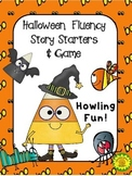 Halloween Fluency Story Starters and Game