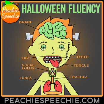 Halloween Fluency Therapy Activities (Stuttering Therapy)