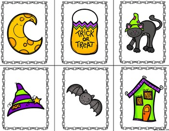 Halloween Fluency and Phonemic Awareness Bundle