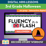 Halloween Fluency in a Flash 3rd Grade • Digital Fluency M