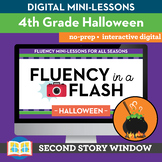 Halloween Fluency in a Flash 4th Grade • Digital Fluency M