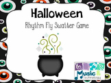 Halloween Rhythm Fly Swatter Card Game