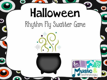 Halloween Fly Swatter Rhythm Game