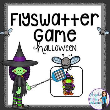 Halloween Flyswatter Vocabulary Game