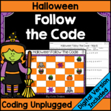 Halloween Coding Unplugged - Follow the Code