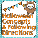 Halloween Following Directions   Concepts   Language