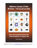 Halloween Following Directions The Fun and Easy Way Activities