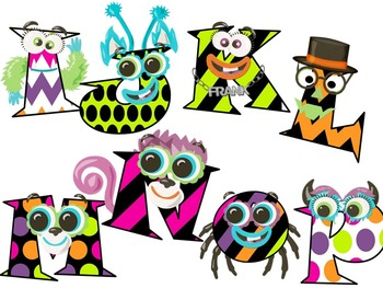 Halloween Font 2 - Monster Font - Fun Font - Personal & Commercial use