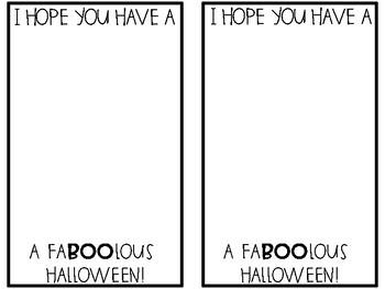 Halloween Footprint Cards