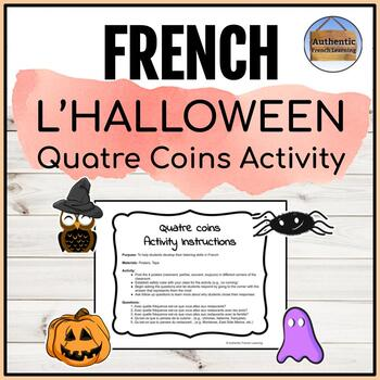 Halloween Four Corners Activity