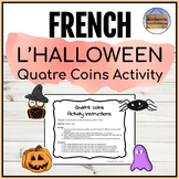 Halloween Four Corners Activity