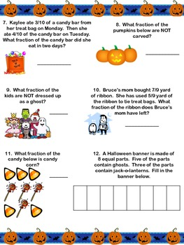 Halloween Fraction Frenzy