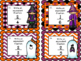 Halloween Fraction Task Cards: Simplify and Write Equivalent Fractions