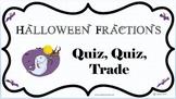 Halloween Fractions Quiz Quiz Trade Cards
