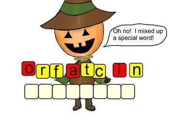 Halloween Fractions Smartboard
