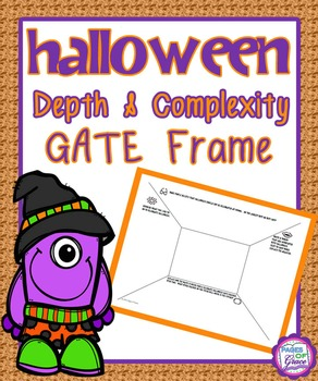 Halloween Depth & Complexity GATE Frame