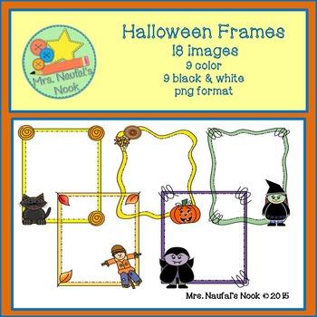 Halloween Frames Clip Art