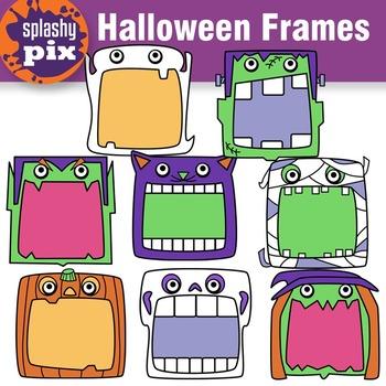 Halloween Frames Clipart