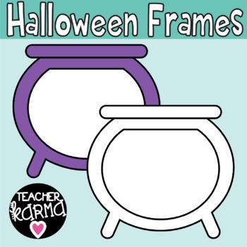 Halloween Frames Clipart, Fall Borders