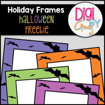 Halloween Frames clipart FREEBIE
