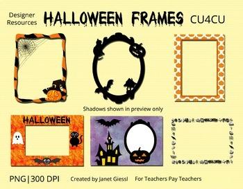 Halloween Frames Kit