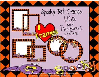 Halloween Borders {Commercial Use-Spooky Bat}